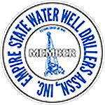 Member of Empire State Water Well Drillers Association