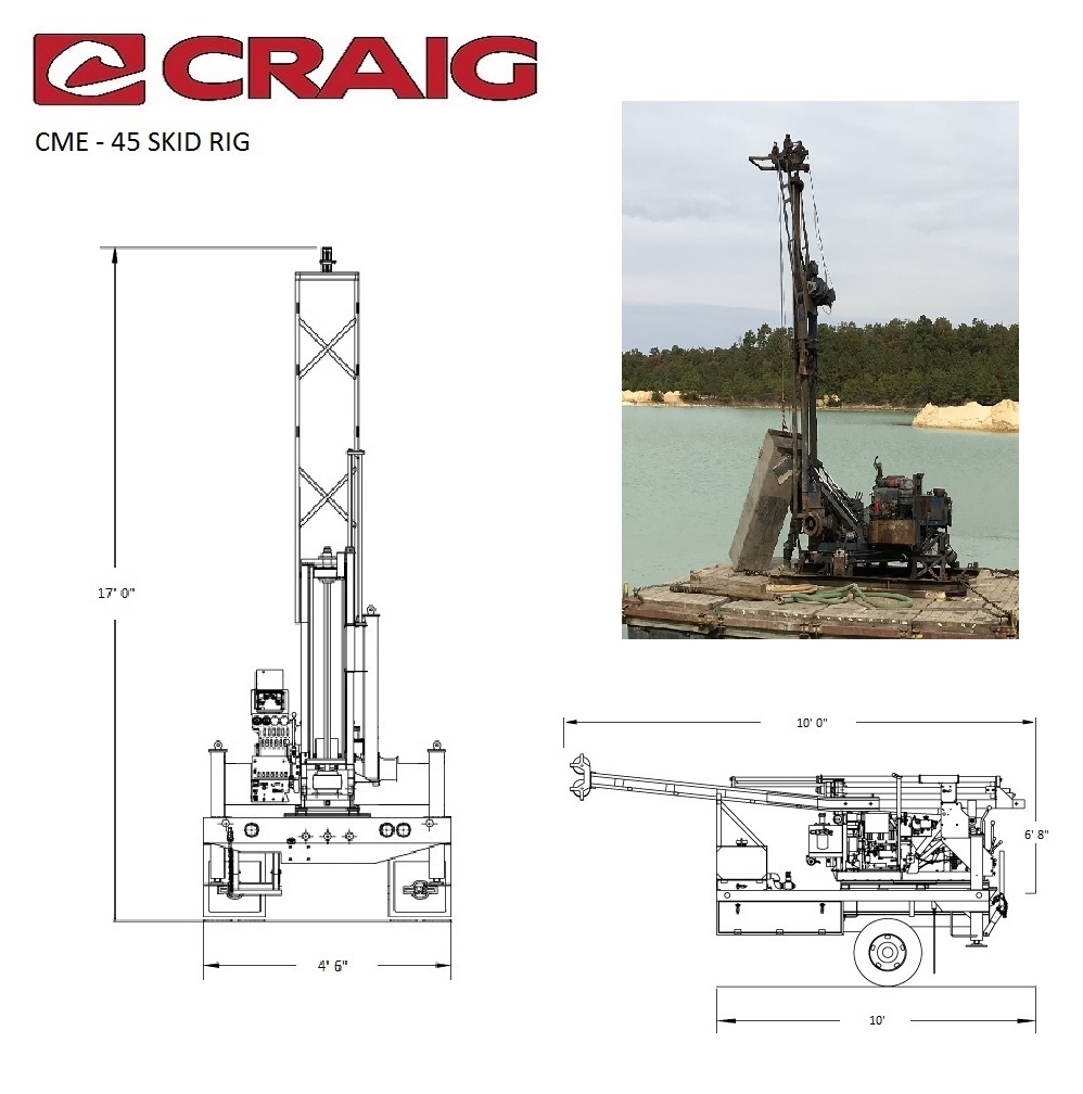 CME-45 Skid Rig