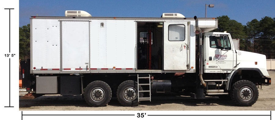 Cone Penetration Testing (CPT) Truck